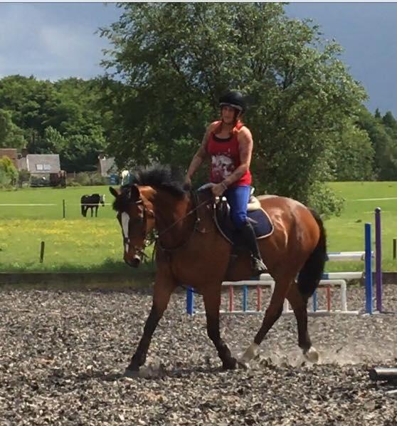Nikki got back on a horse five months following her InternalBrace surgery