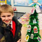 george with his tree